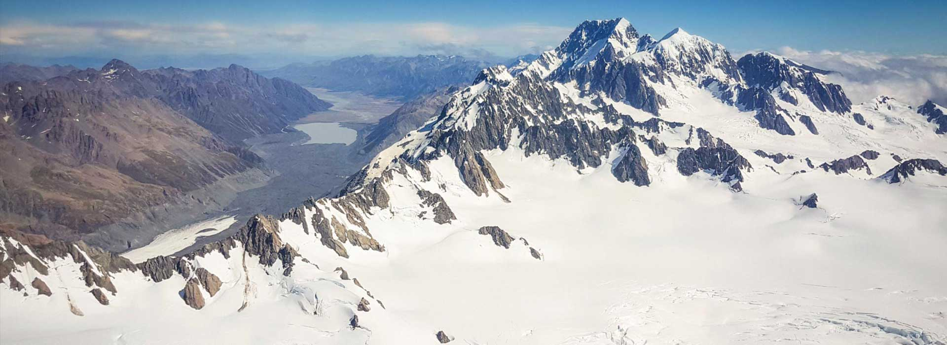 Mt Cook & West Coast Glaciers $450pp (was $580)