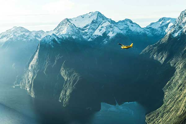 Milford Sound Glacier Flight & Cruise
