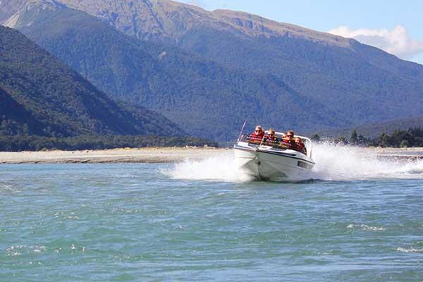 Jet Boat Ride Makarora River