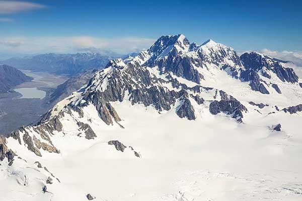 Mt Cook, Fox Glacier, Franz Josef Glacier & Tasman Glaciers
