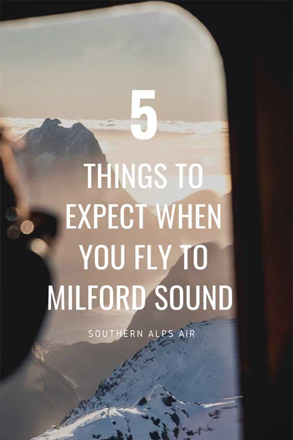 5 things to expect when you fly to Milford Sound