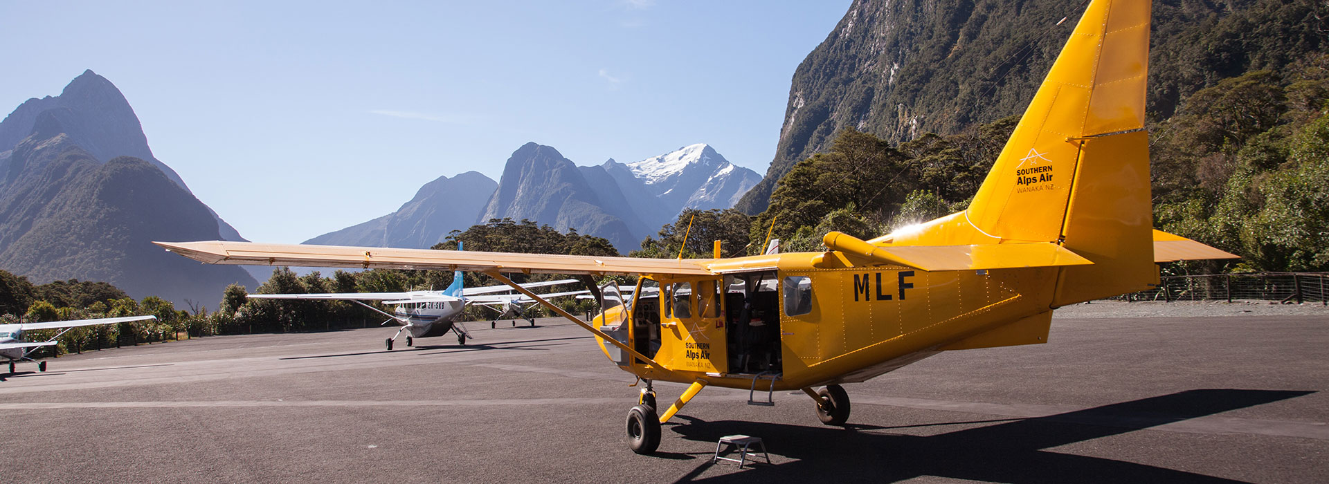 Milford Sound & Glaciers + Landing $349pp (was $515)