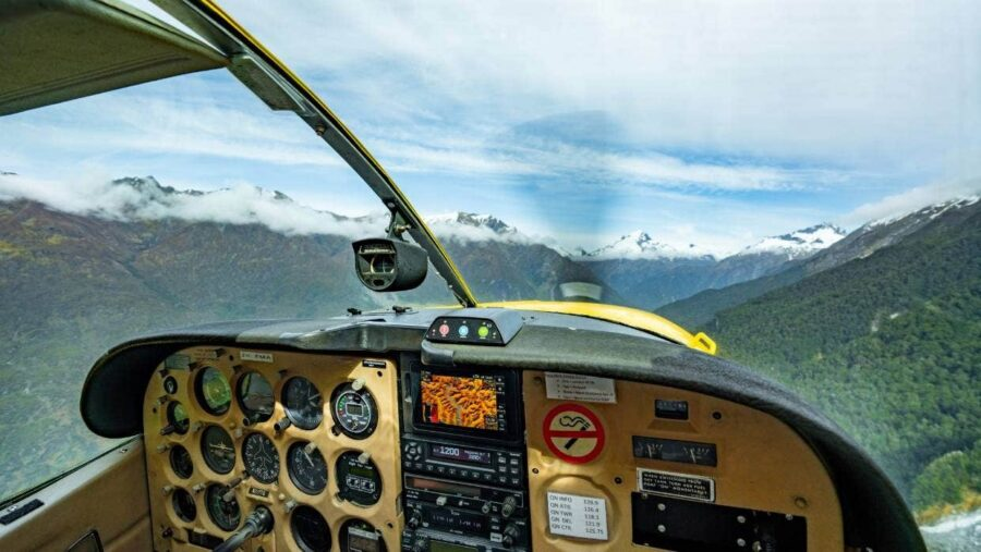 siberia experience view from the cockpit with southern alps air